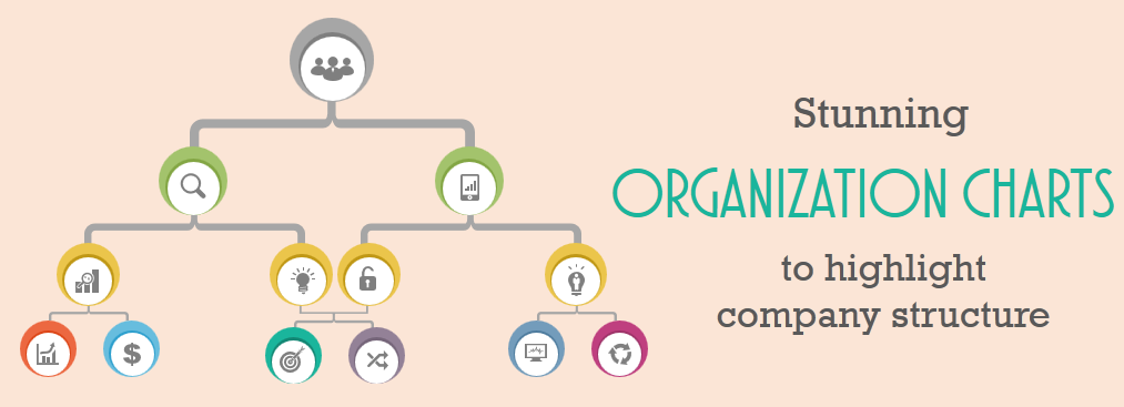 Turn boring organization charts into stunning ones using these designs