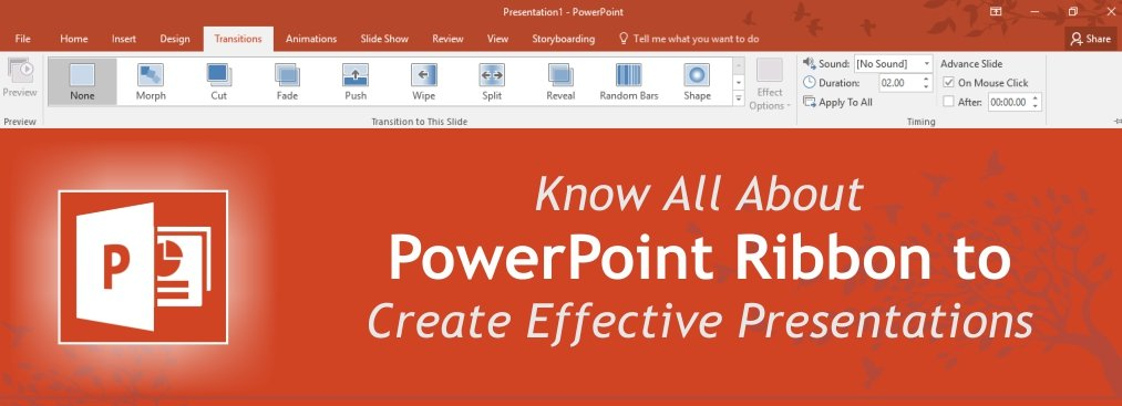 Know All About PowerPoint Ribbon to Create Effective Presentations [PowerPoint Tutorial Chapter 1]