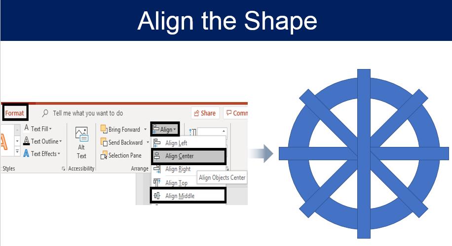 Align the Shape