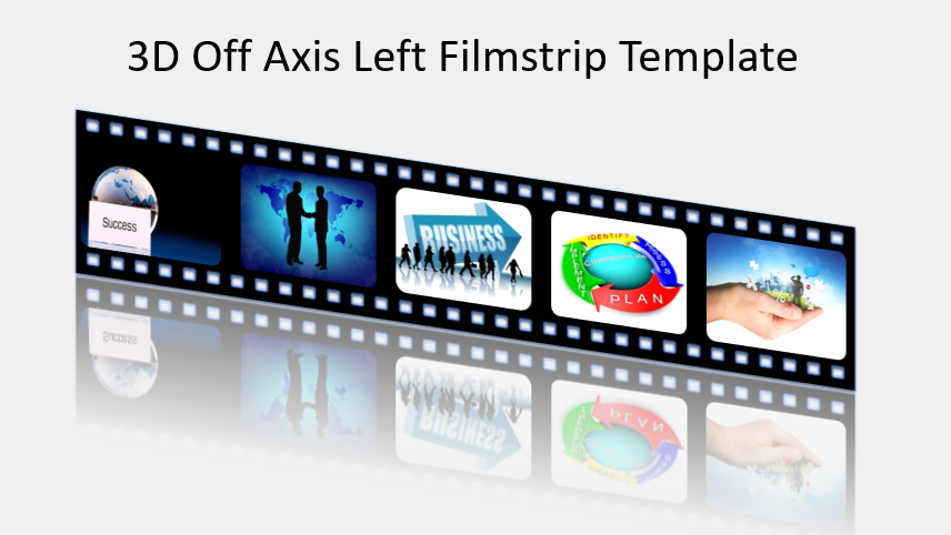 3D Off Axis Left Filmstrip Template