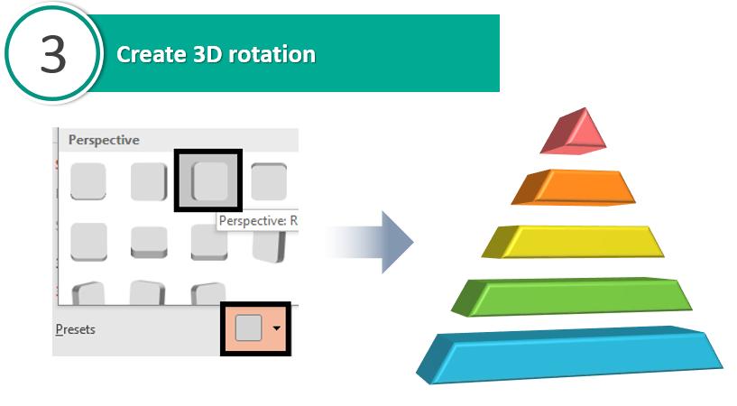 Create 3D rotation