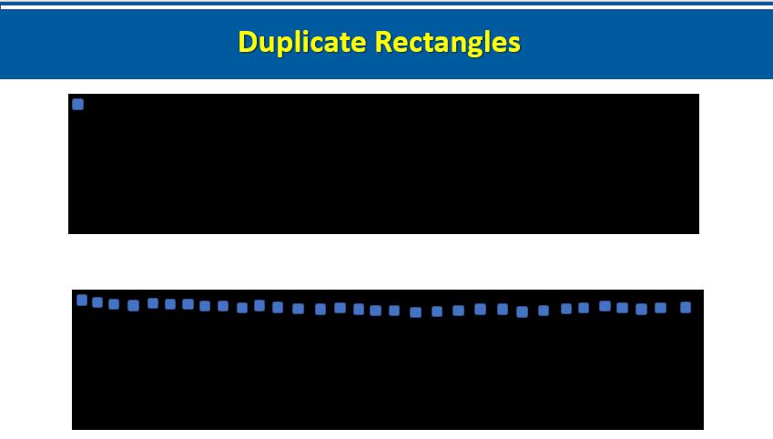 Duplicate Rectangles