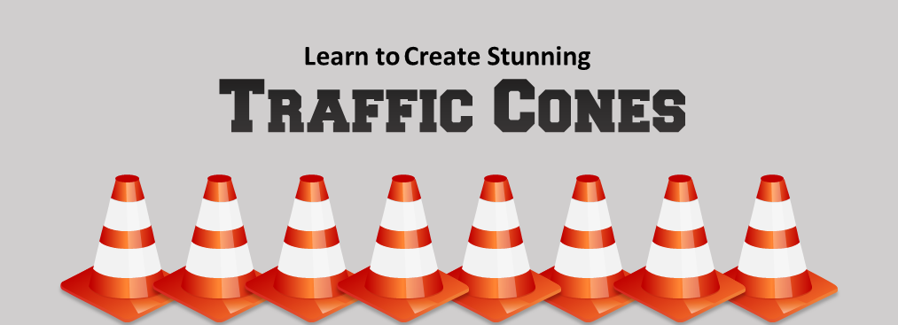Learn to Create Stunning Traffic Cone Graphics in PowerPoint
