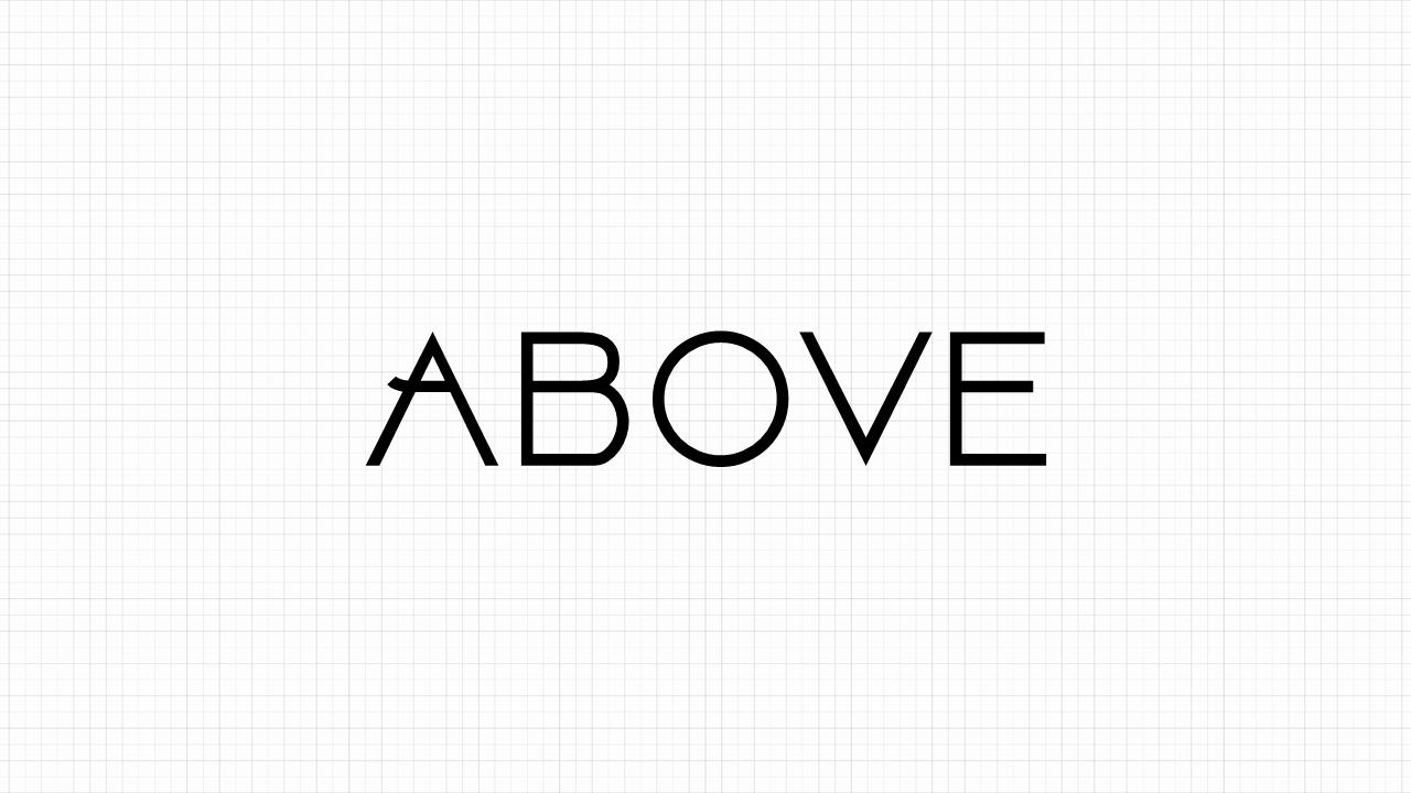Above Font