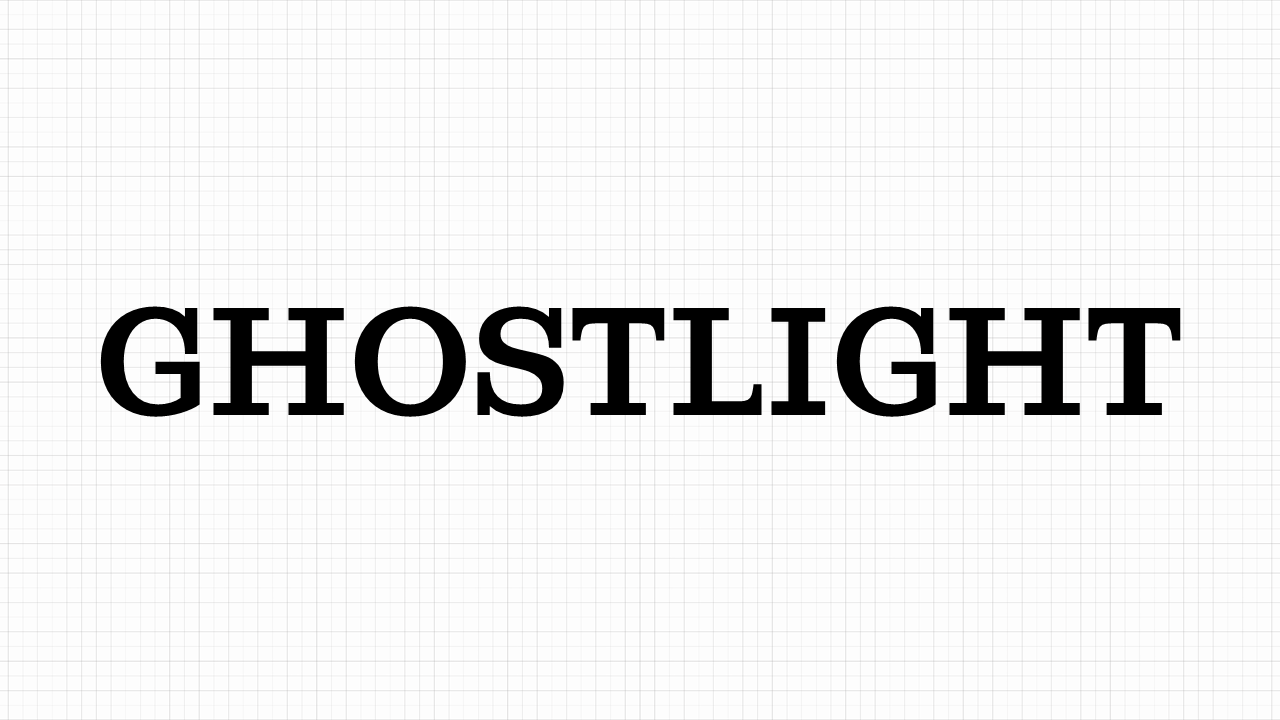Ghostlight Font