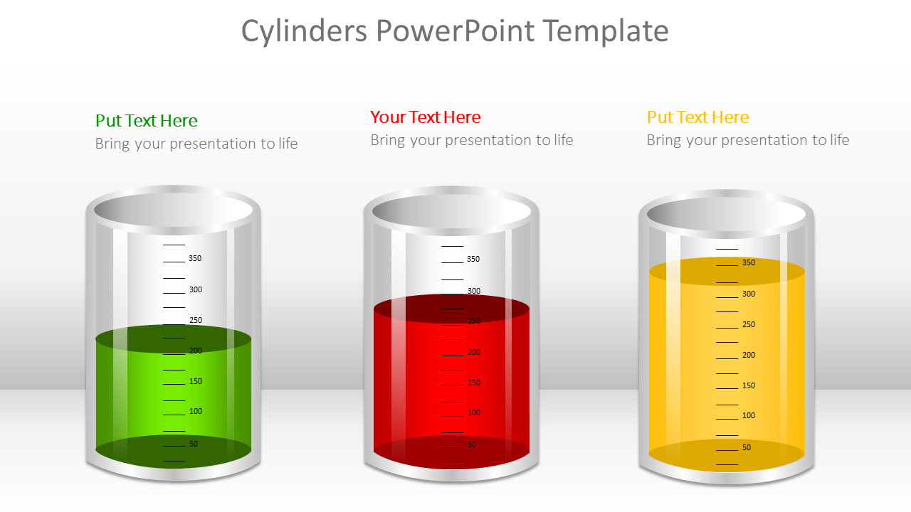 Cylinder PowerPoint Template