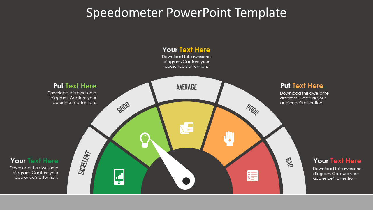 Speedometer PowerPoint Template