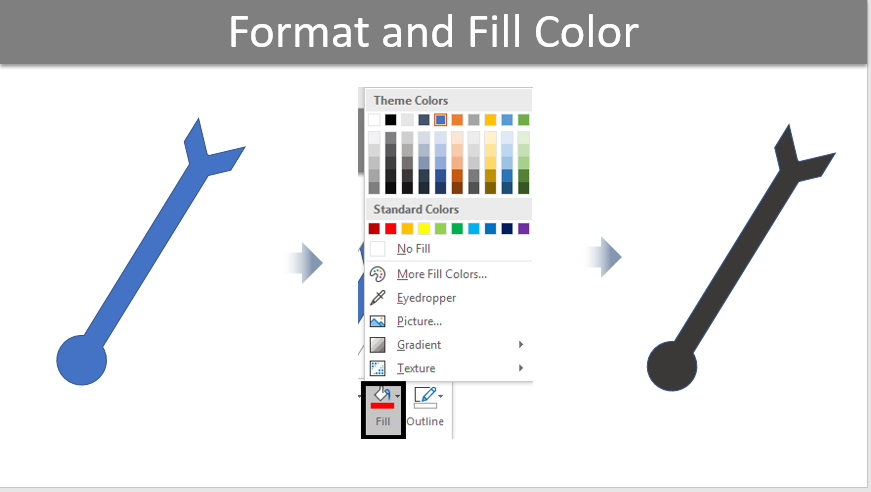 Format and Fill Color