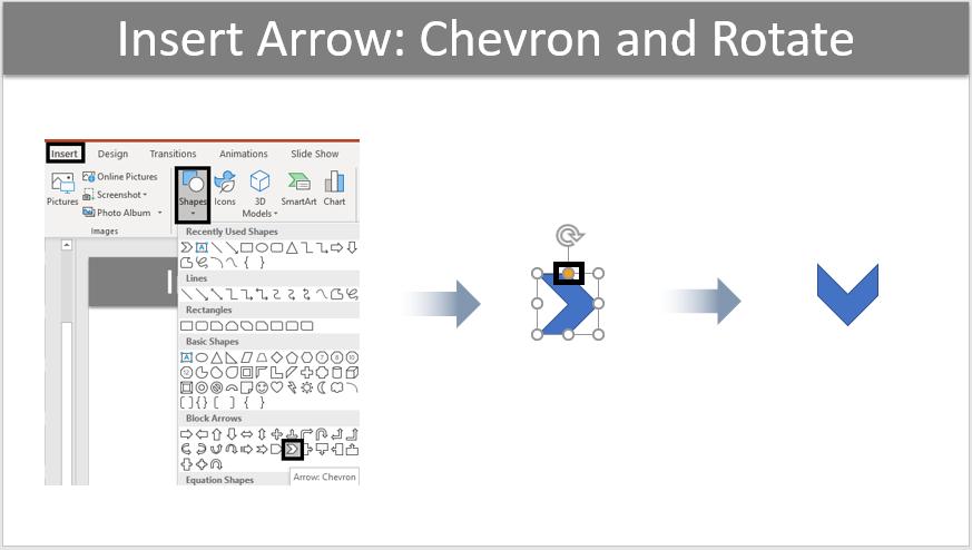 Insert an Arrow