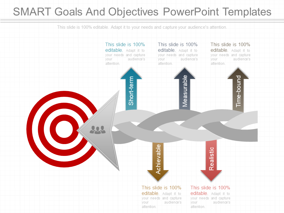 Smart Goals And Objectives PowerPoint Templates