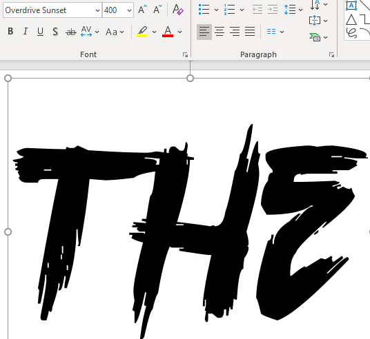 Step 1- Download a brush font