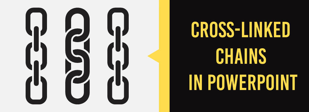 How to Design Cross-Linked Chains in PowerPoint