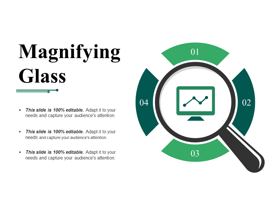 Magnifying Glass PPT PowerPoint Presentation Inspiration Icons