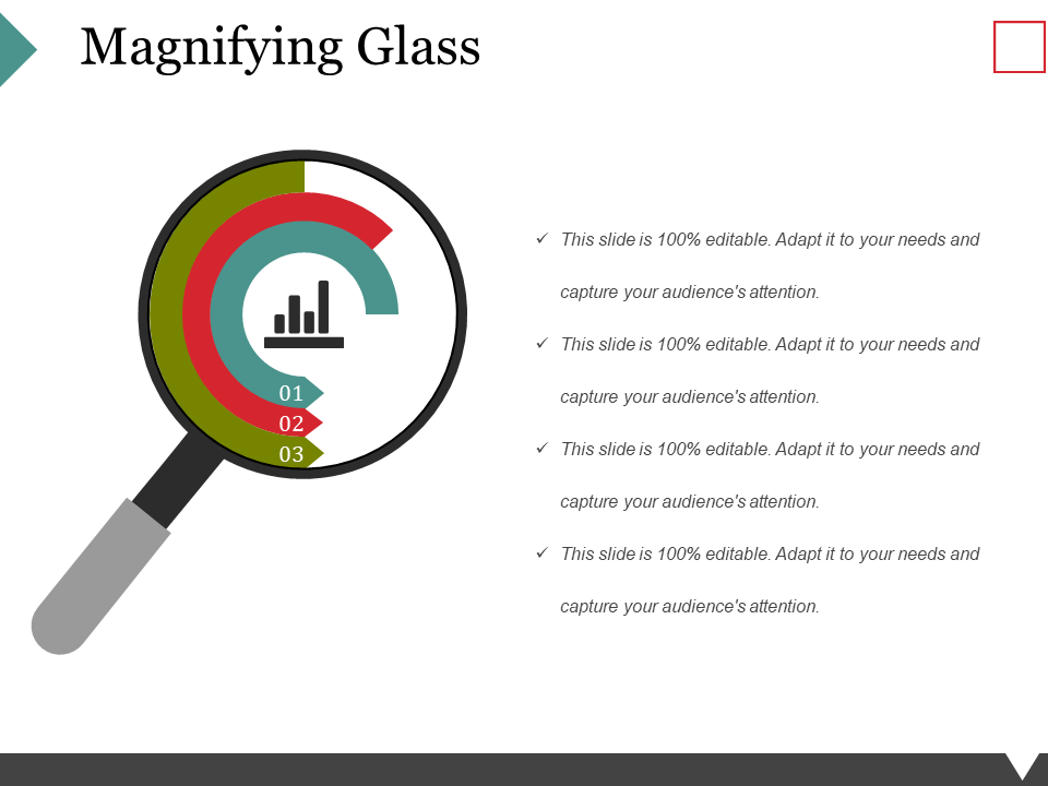 Magnifying Glass PPT PowerPoint Presentation Styles Influencers