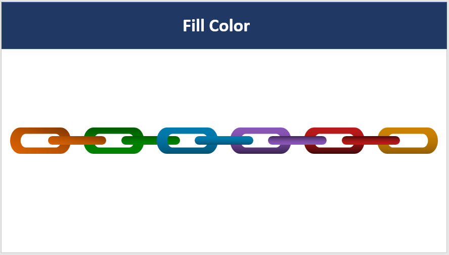 Fill Color in Shapes