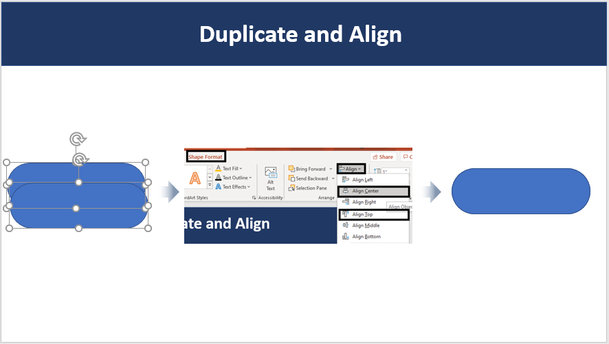 Duplicate and Align