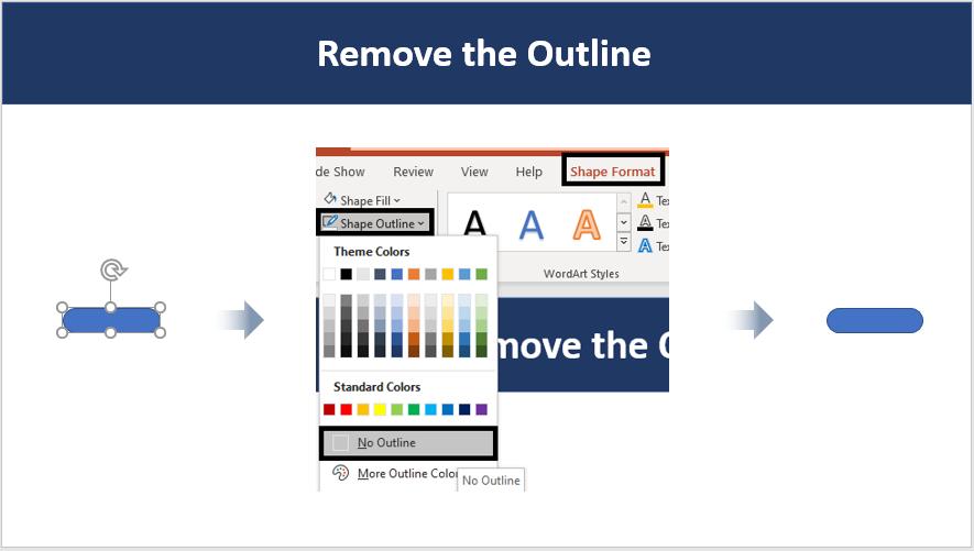 Remove Outline