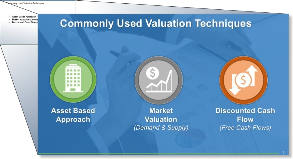 Business Valuation Presentation 1