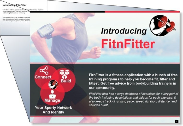Online Fitness Program Presentation 2
