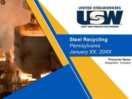 Steel Recycling Companies Presentation