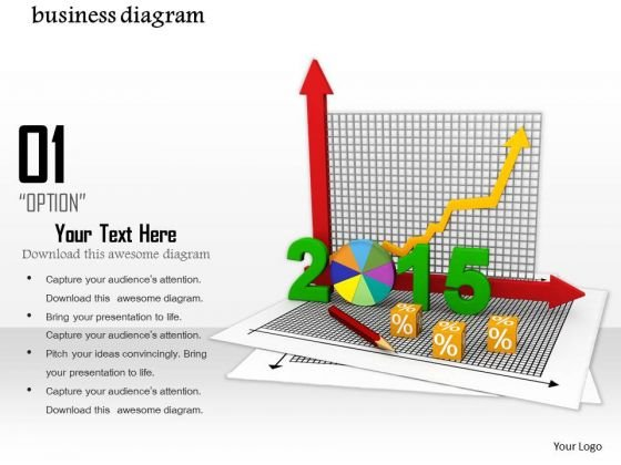 0814 Business Diagram 2015 For Planning Image Graphics For PowerPoint