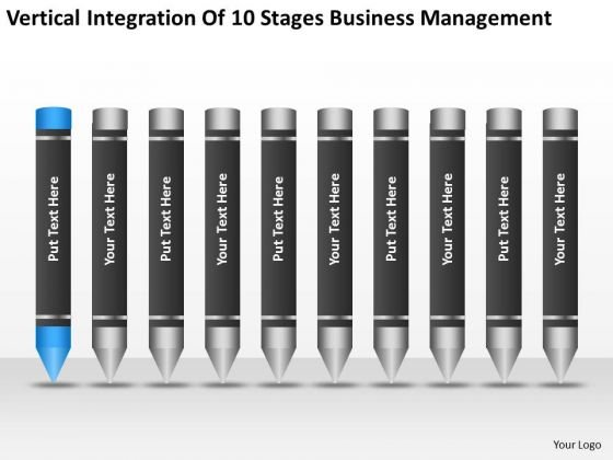 10 Stages Business Management Ppt Help Writing Plan For PowerPoint Templates