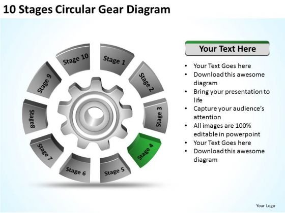 10_stages_circular_gear_diagram_ppt_create_business_plan_free_powerpoint_templates_1