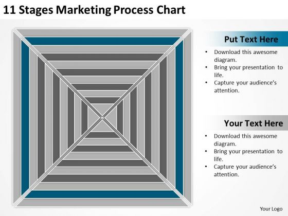 11 Stages Marketing Process Chart Ppt Real Estate Agent Business Plan PowerPoint Templates