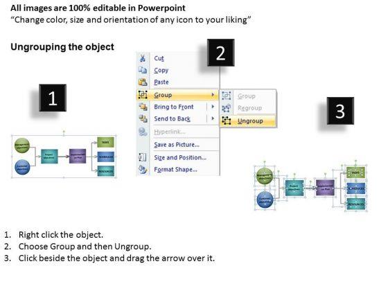 2_3_sub_stages_process_flowchart_diagram_powerpoint_templates_ppt_slides_2