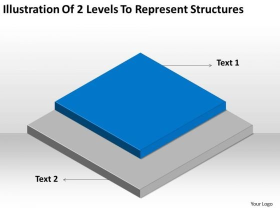 2 Levels To Represent Structures Ppt Business Plan Examples PowerPoint Slides