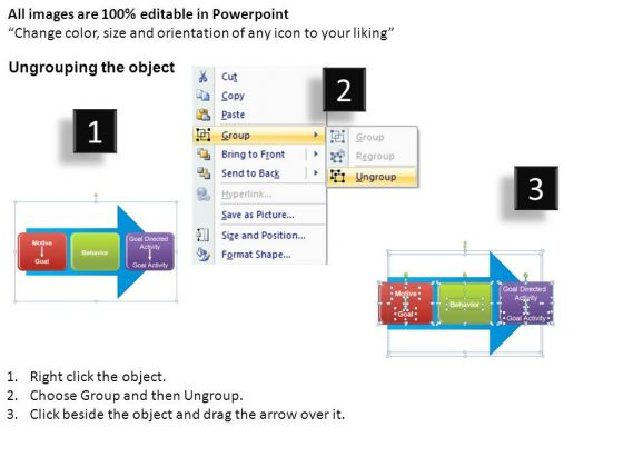 2_stage_arrow_diagram_with_editable_text_powerpoint_templates_ppt_slides_2