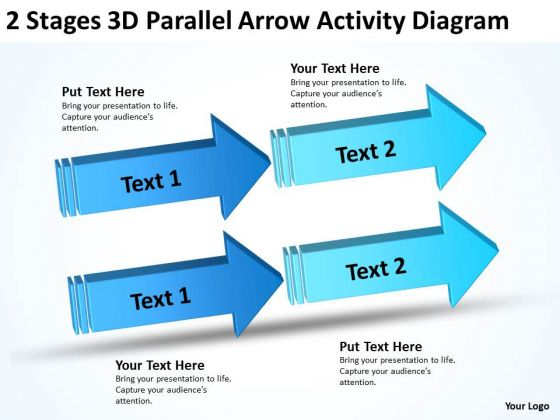 2 stages 3d parallel arrow activity diagram business plan draft 2 stages 3d parallel arrow activity diagram business plan draft powerpoint templates powerpoint templates ccuart Gallery