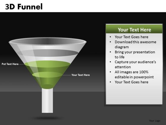 2 Step Funnel Diagrams For PowerPoint Slides Ppt Templates