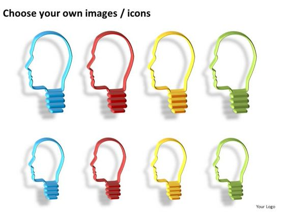 2d Thinking Man Style PowerPoint Images