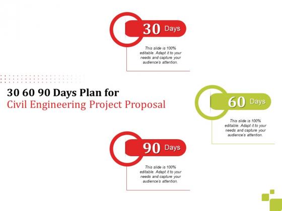 30_60_90_Days_Plan_For_Civil_Engineering_Project_Proposal_Ppt_Slides_Clipart_PDF_Slide_1