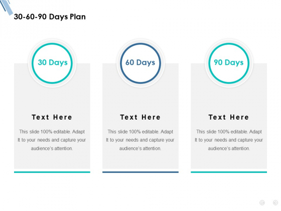 30 60 90 Days Plan Ppt PowerPoint Presentation Infographic Template Images