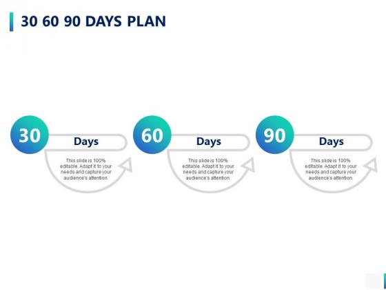 30 60 90 Days Plan Ppt PowerPoint Presentation Portfolio Slides