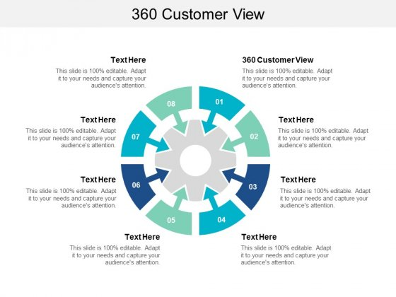 360 Customer View Ppt PowerPoint Presentation Outline Summary Cpb