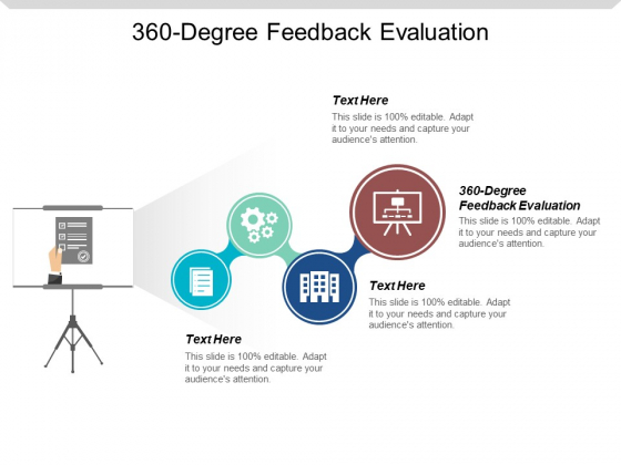 360 Degree Feedback Evaluation Ppt Powerpoint Presentation Professional Visual Aids Cpb