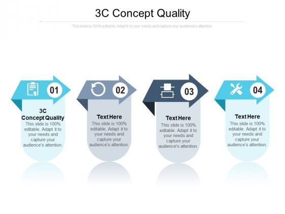 3C Concept Quality Ppt PowerPoint Presentation Model Slide Cpb Pdf