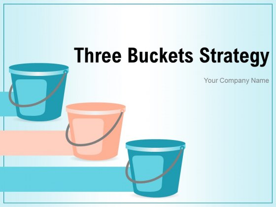 3 Buckets Strategy Digital Strategy Plan Business Ppt PowerPoint Presentation Complete Deck