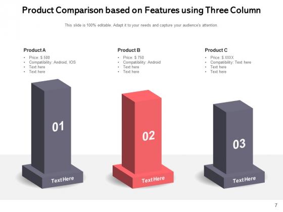 3_Column_Table_Comparison_Comparison_Product_Ppt_PowerPoint_Presentation_Complete_Deck_Slide_7