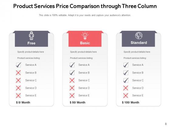 3_Column_Table_Comparison_Comparison_Product_Ppt_PowerPoint_Presentation_Complete_Deck_Slide_8