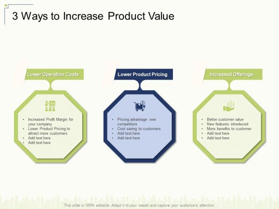 3 Ways To Increase Product Value Ppt Model Topics PDF