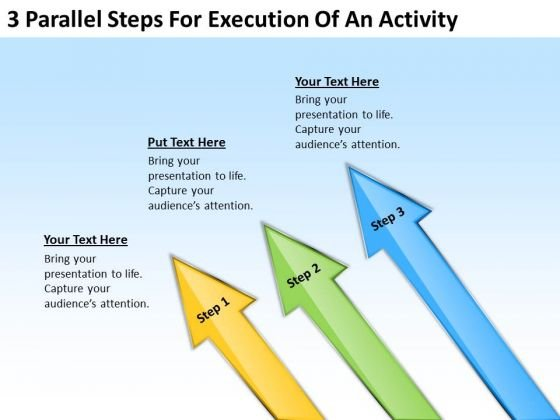 Parallel Steps For Execution Of An Activity Sample Real Estate
