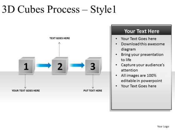 3 Stage Process Flowchart Project PowerPoint Slides And Ppt Templates