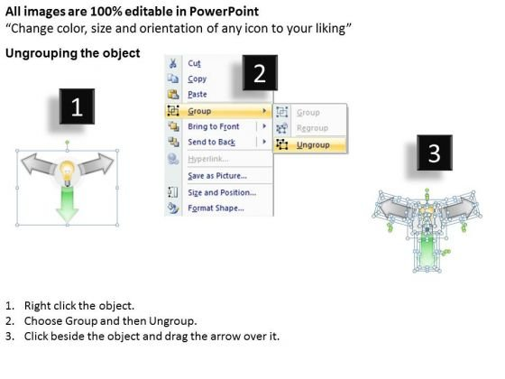 3_stages_hub_and_spoke_diagram_business_plans_for_free_powerpoint_templates_2