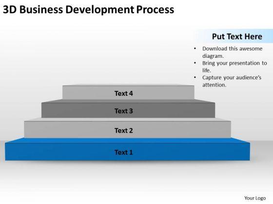 3d Business Development Process Ppt Plan Programs PowerPoint Templates