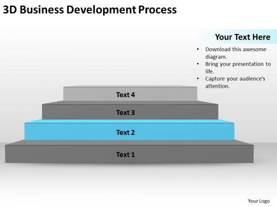 3d Business Development Process Ppt Plans Samples PowerPoint Templates