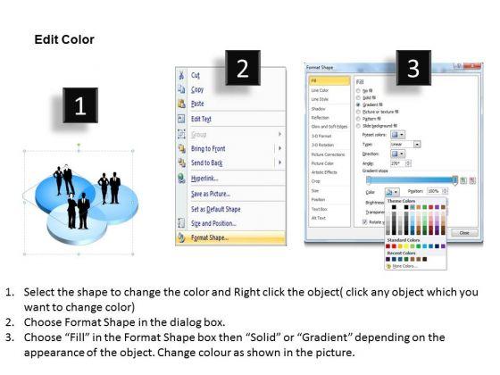 3d Market Segmentation PowerPoint Presentation Template ...